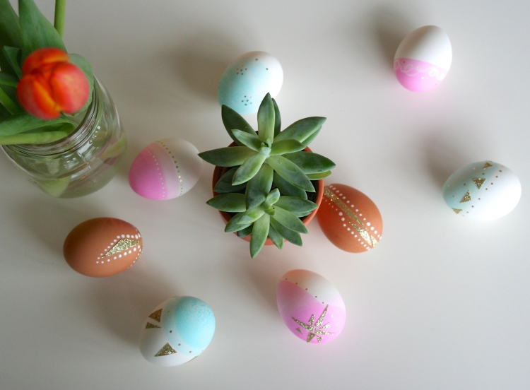 an easter egg DIY for the lazy perfectionist