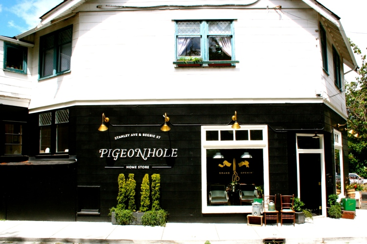 Pigeonhole Home Store on {OH} Victoria