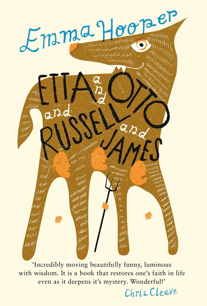 Etta and Otto and Russell and James by Emma Hooper, UK edition